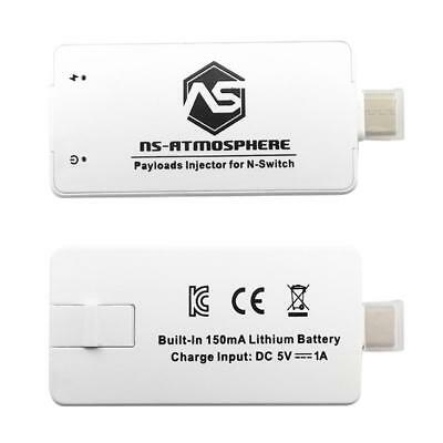NS Atmosphere for Nintend Switch Payloads RCM JIG Injector Portable Dongle White