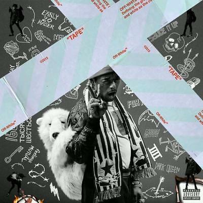 "Lil Uzi Vert Luv Is Rage 2 Album Cover Art Poster 12x12"" 24x24"" 32x32"""