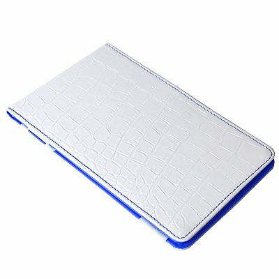 On Par Crocodile Scorecard Holder - White & Blue