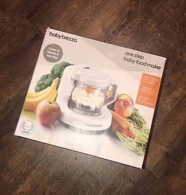 NEW Baby Brezza One Step Baby Food Maker