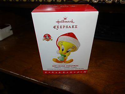 Hallmark Ornament Looney Tunes Tweety Hot Cocoa Christmas 2016 Nib Tweety Bird
