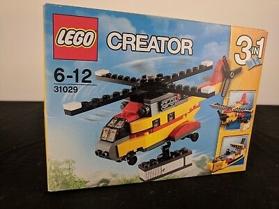LEGO Creator 31029 Cargo Helicopter 3 in 1 Brand New