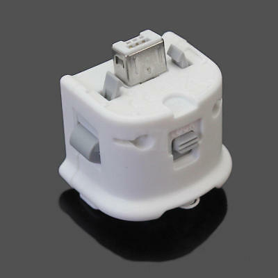 Motion Plus MotionPlus Adapter Sensor for Nintendo Wii Remote Controller White