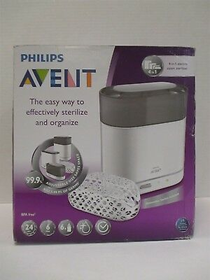 Philips Avent Natural Steam Sterilizer Basket Included - Rc 8323