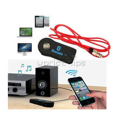 3.5mm Audio Cable+3.5mm Wireless Bluetooth V3.0 Stereo Audio Music Car Receiver