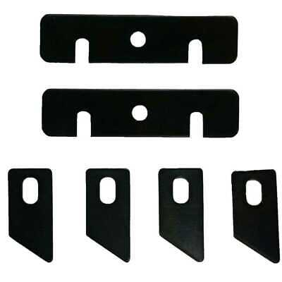 Virutex AU-93B 6pc AU93 Edgeband Trimmer Replacement Blade Set New