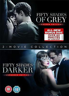 Fifty Shades Of Grey + Fifty Shades Darker - 2 Movie Collection