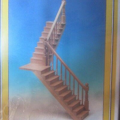 Dolls House DIY Turned Stair Case Kit MD70120