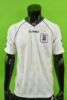 2009-10 HUMMEL AGF Aarhus Home Football Shirt  SIZE M (adults)