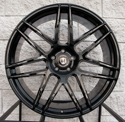 """24"""" Curva C300 Wheels Tires For Range Rover Sport HSE Supercharged Glossy Black"""