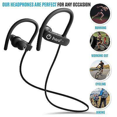 Wireless Headphones Bluetooth Earbuds Waterproof 8hr Battery HD Stereo Sound