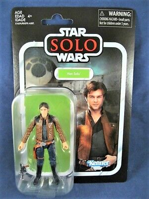Star Wars Vintage Collection Han Solo VC124 Young Solo Hasbro Kenner Disney NEW