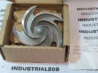 Goulds 3196 Stx 5 Vane 6'' Stainless Impeller 56206 New