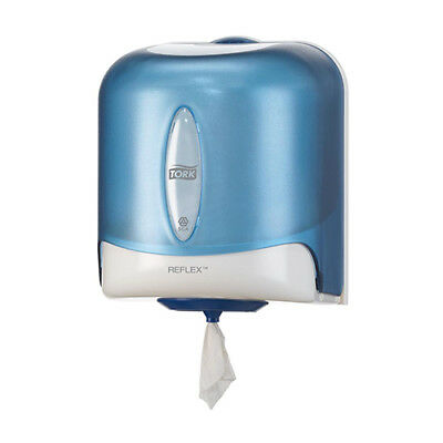 Tork Reflex Single Sheet Centrefeed Dispenser W252xD240xH310mm Plastic Blue Ref