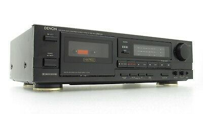 DENON CASSETTE TAPE Player Recorder HXPro Dolby Stereo Single Deck Japan  DRM-510