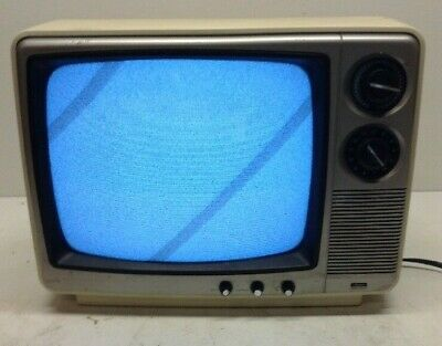 Sears Roebuck and Co. Vintage TV 1983 56450430350 Tested Used