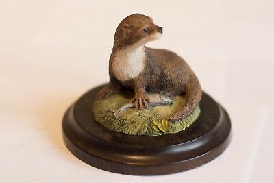 Country Artists - Otter with a Fish by Richard Cooper & Co 1984