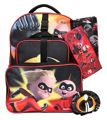 36ae96a2752d POKEMON BACKPACK   Lunch Box Set! Black Yellow Explosion Large 16 ...