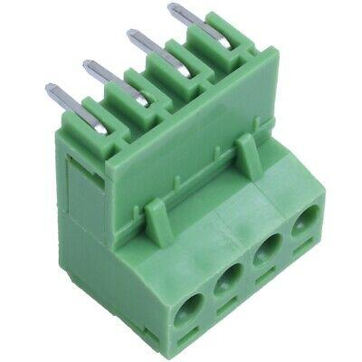 9Pairs 4Pole 5.08mm Plug Type Pitch PCB Mount Screw Terminal Block Kit with W3W9