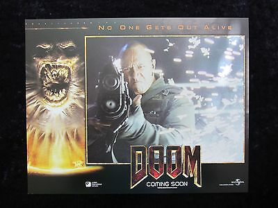 Doom lobby card # 3 - Dwayne Johnson, The Rock, Karl Urban