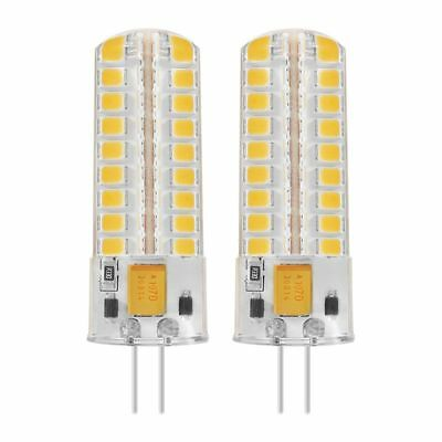 2x 6.5W G4 LED Bulbs 72 2835 SMD LED 50W Halogen Bulbs Equivalent 320lm Dim Z4K8