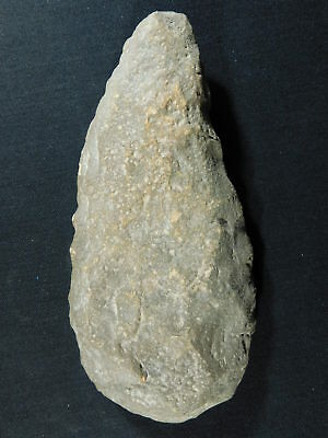 A Big ONE Million Year Old Early Stone Age ACHEULEAN Hand Axe Mauritania 685gr e