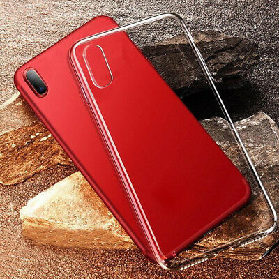 """For Apple iPhone XS XS Max (6.5"""") XR Case Protective Slim Shockproof Phone Cover"""