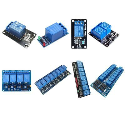 5V 1/2/4/8/16 Channel Relay Board Module Optocoupler LED Arduino PiC ARM AVR