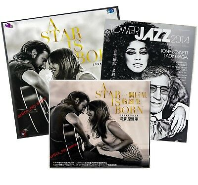 Lady Gaga A Star Is Born Taiwan CD BOX Poster 2018 Shallow Bradley Cooper NEW