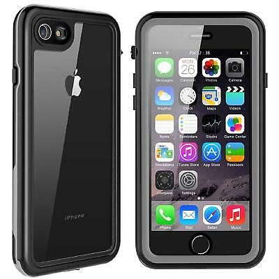 For Apple iPhone 7 / 8 Plus Waterproof Case Cover with Built-in Screen Protector