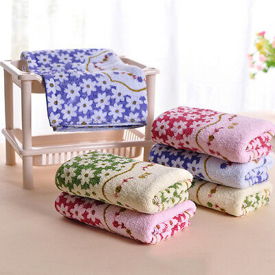 Soft Towel 100% Cotton Printed Absorbent Dry Hand Face Bath Wash Towels UK