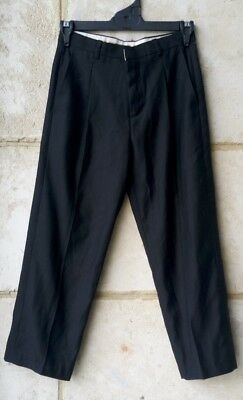 Size 8 Page Boys Kids Formal Suit Pants Trousers Tuxedo Wedding Party Black
