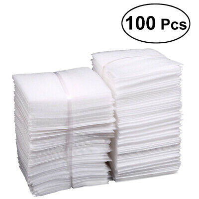 100pcs Foam Wraps Pouches EPE Dishes Porcelain Sheet for Packing Shipping Moving