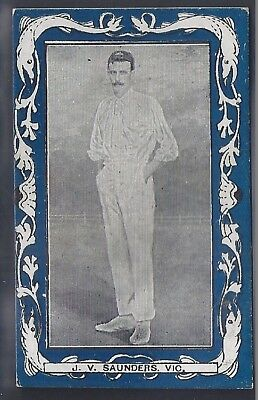 Wills-Australian/south African Cricket Blue Border (Vice Regal)- Saunders