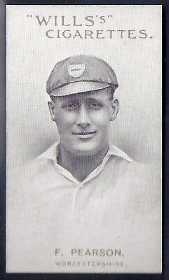 Wills-Australian/English Cricket Titled-Capstan Series Of __-#34- Pearson