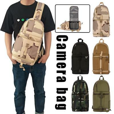 Camera Backpack Sling Shoulder Bag Case Shockproof For Canon Nikon Sony DSLR SLR