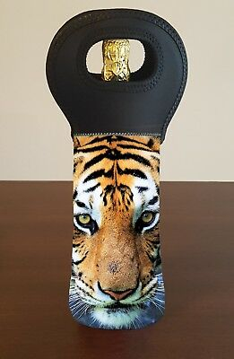 Tiger Personalised Wine Bottle Cooler Carry Bag