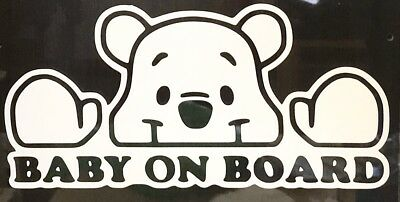 Vinyl Car Graphic Sticker Decal Car Baby On Board