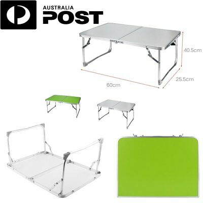 Folding PC Desk Bed Tray Table for Eating Laptop Computer Travel Folding Legs