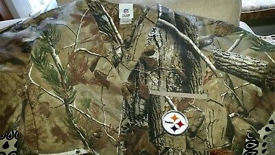 9ae2bcc6e Pittsburgh Steelers Medium NWT Realtree Men Women Medical Nurse Scrub Top