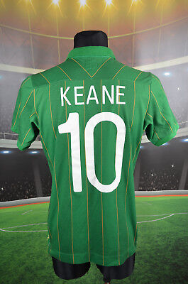 "Ireland Eire Umbro 2011-12 Keane #10 Home Football Shirt (38"") Jersey Top Trikot"