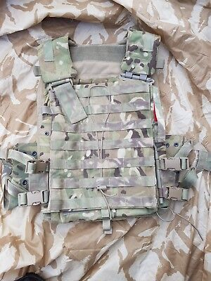 British Army Virtus MTP Cover Body Armour Plate Molle Carrier Medium
