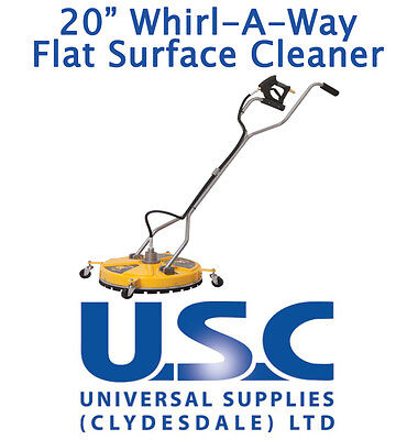 BE Whirlaway 20 Rotary Flat Surface Cleaner Pressure Washer Power Cleaning Patio