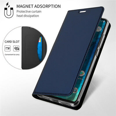 For Xiaomi Redmi Note 8 7 6 Pro 7A 6A Leather Flip Wallet Magnetic Case Cover