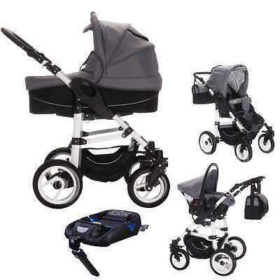 Bebebi Paris | 4 in 1 pram stroller baby carriages travel set | ISOFIX base & ca