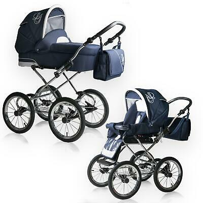 Bebebi Loving | 2 in 1 pram & pushchair set | Nostalgie pram stroller baby carri