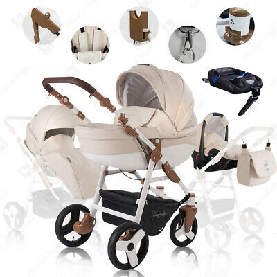 Friedrich Hugo Simpligo | 4 in 1 pram & pushchair set | ISOFIX Set