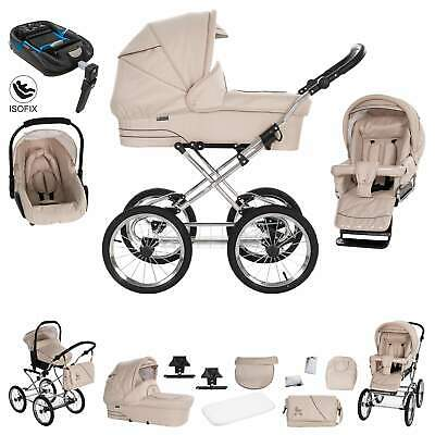 Friedrich Hugo München | 4 in 1 pram & pushchair set | ISOFIX Set