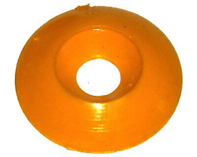 Go Kart Yellow CSK Plastic Seat Washer