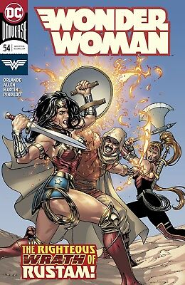 Wonder Woman #54 Dc Universe - 1St Print - Bagged And Boarded. Free Uk P+P!
